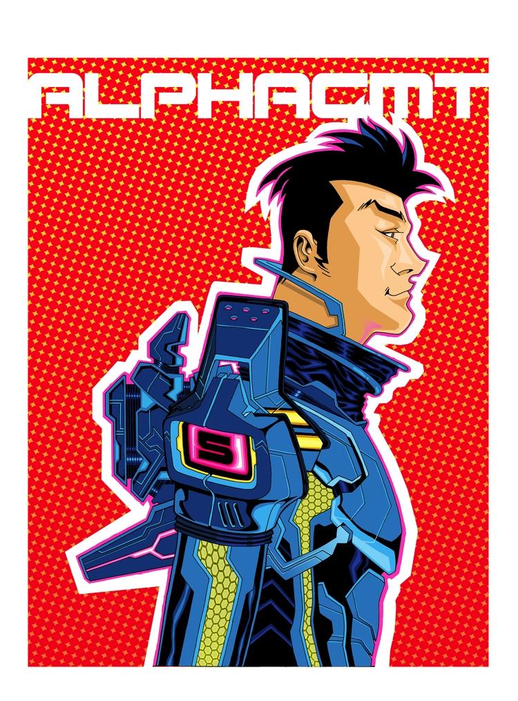 Imaginaut: BLUE. Comic book ins - alphacmt | ello