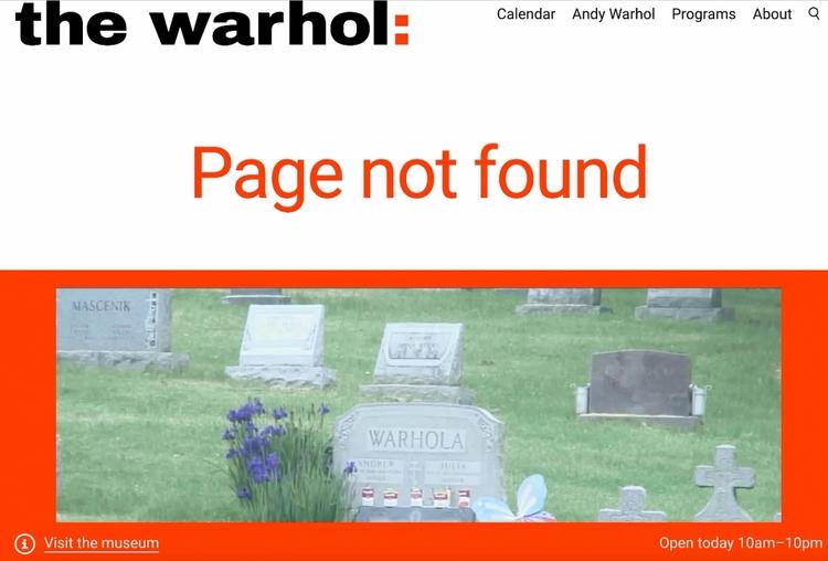 30 Creative Museum 404 Error Pa - valosalo | ello