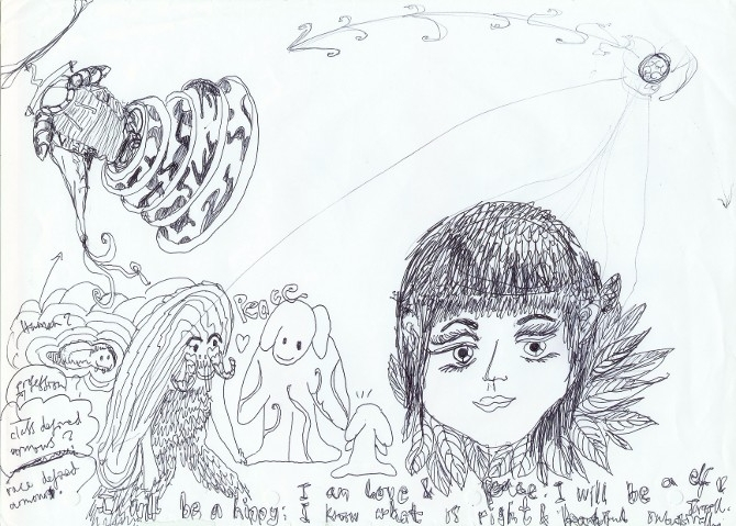 2012 sketch wintersolstice - jio_and_her_rags | ello