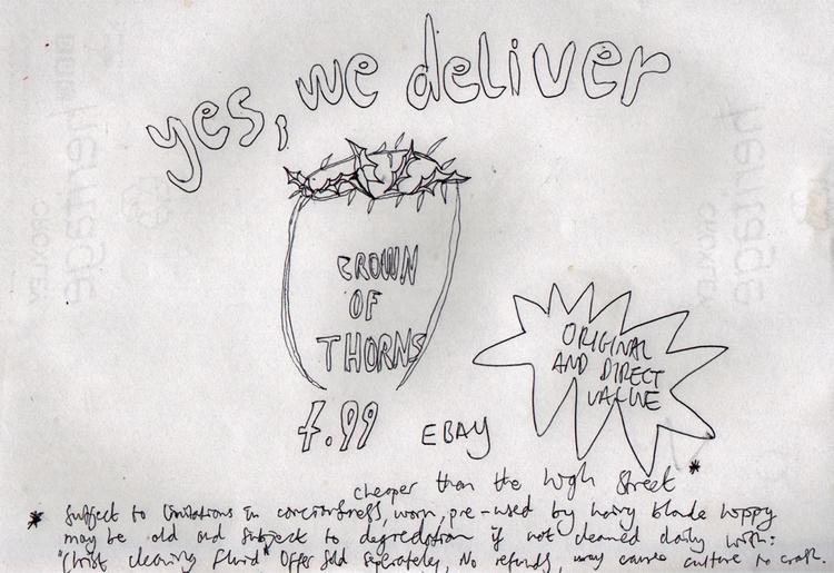 'Ebay Jesus' ~2012 - jio_and_her_rags | ello