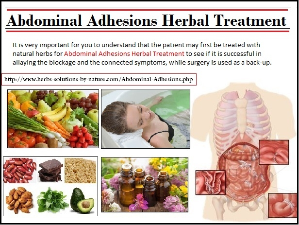 Abdominal Adhesions Herbal Trea - herbs-solutions-by-nature | ello