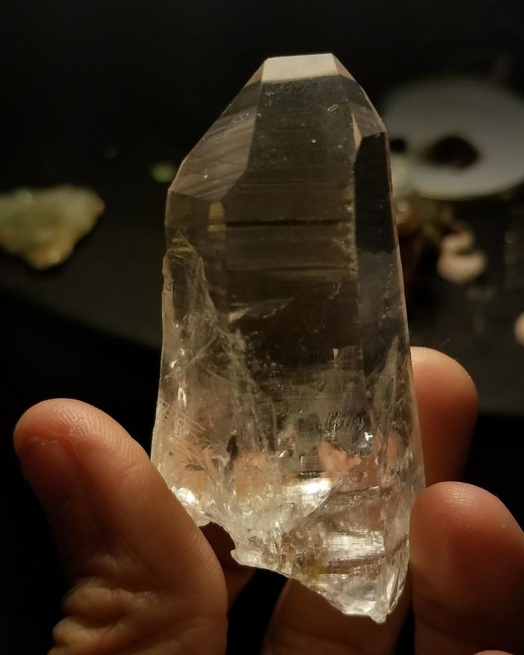 Ice Clear Columbian Quartz - everascendinglight | ello