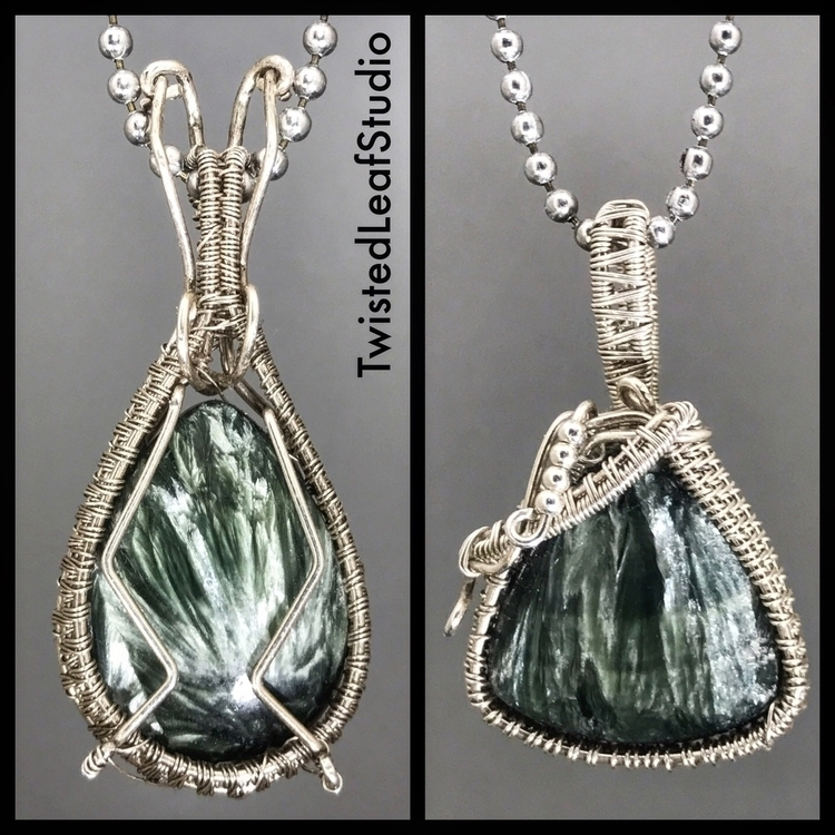 Seraphinite Pendants- today! ch - twistedleafstudio | ello