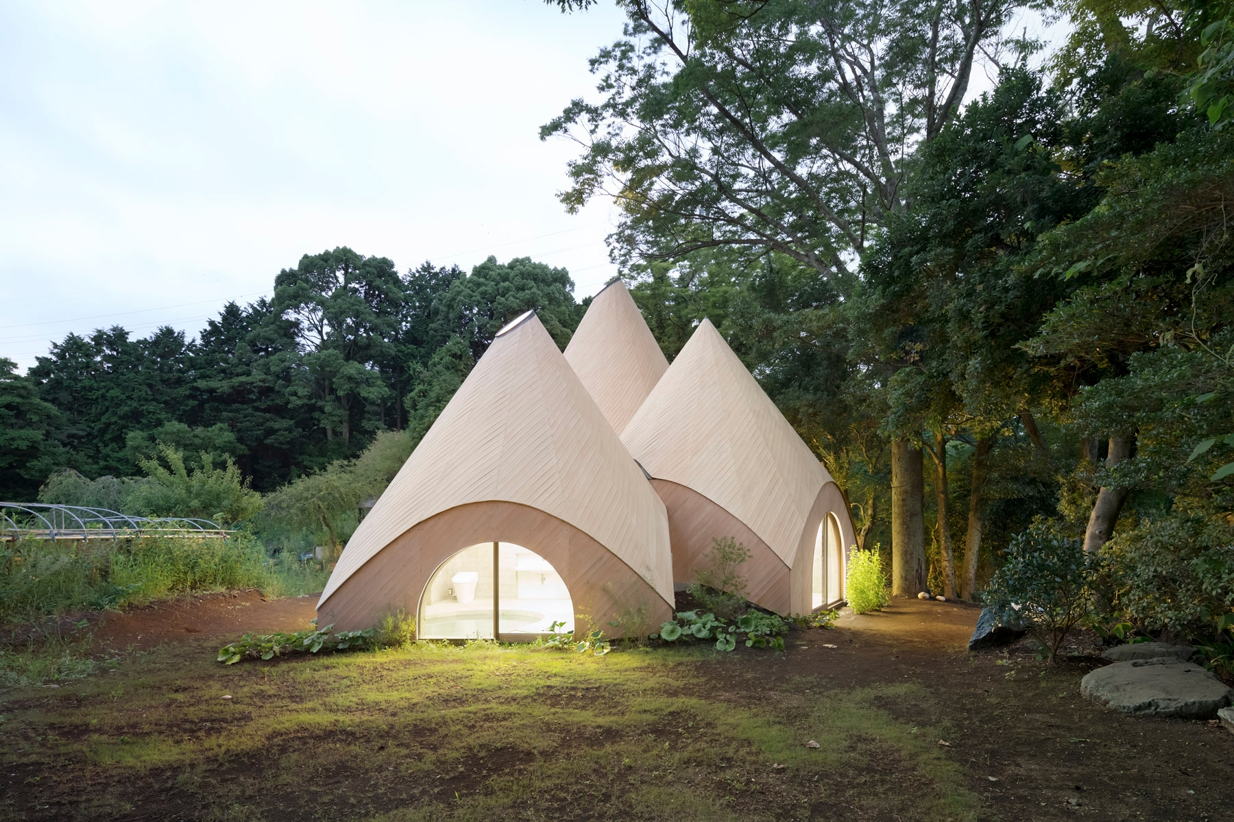 Multipurpose huts top mountain  - thisispaper | ello