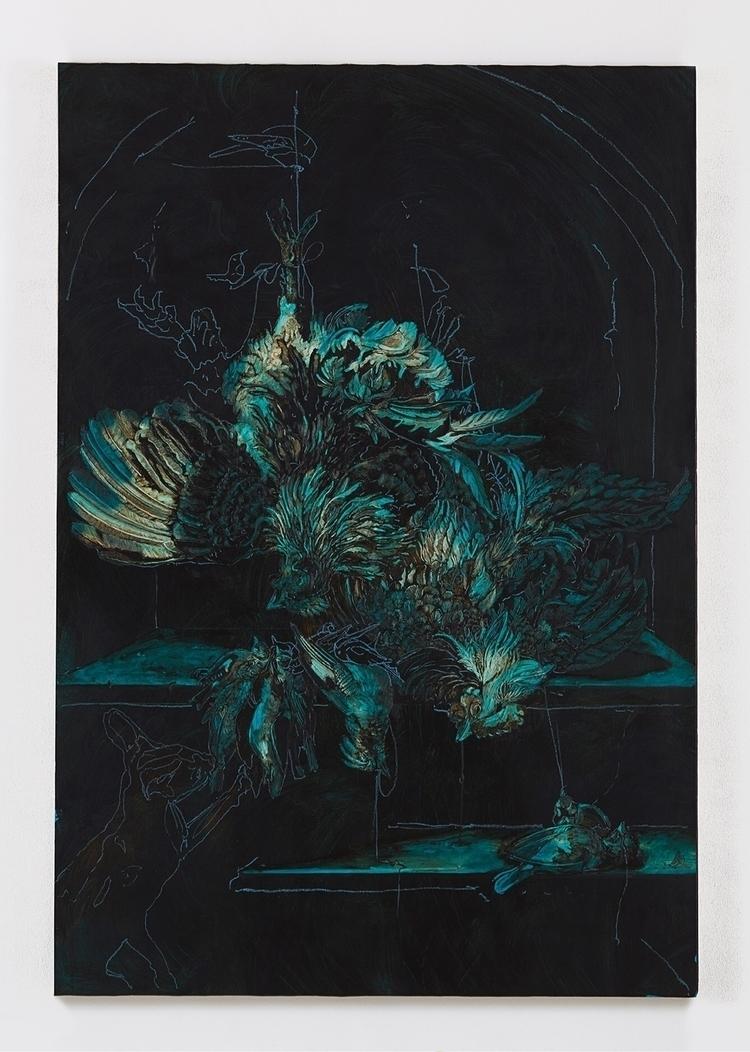 blue birds bitumen lacquer enam - nathanpeter | ello
