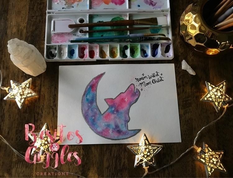 Roam wild Moon Child:full_moon - besitosandgiggles | ello