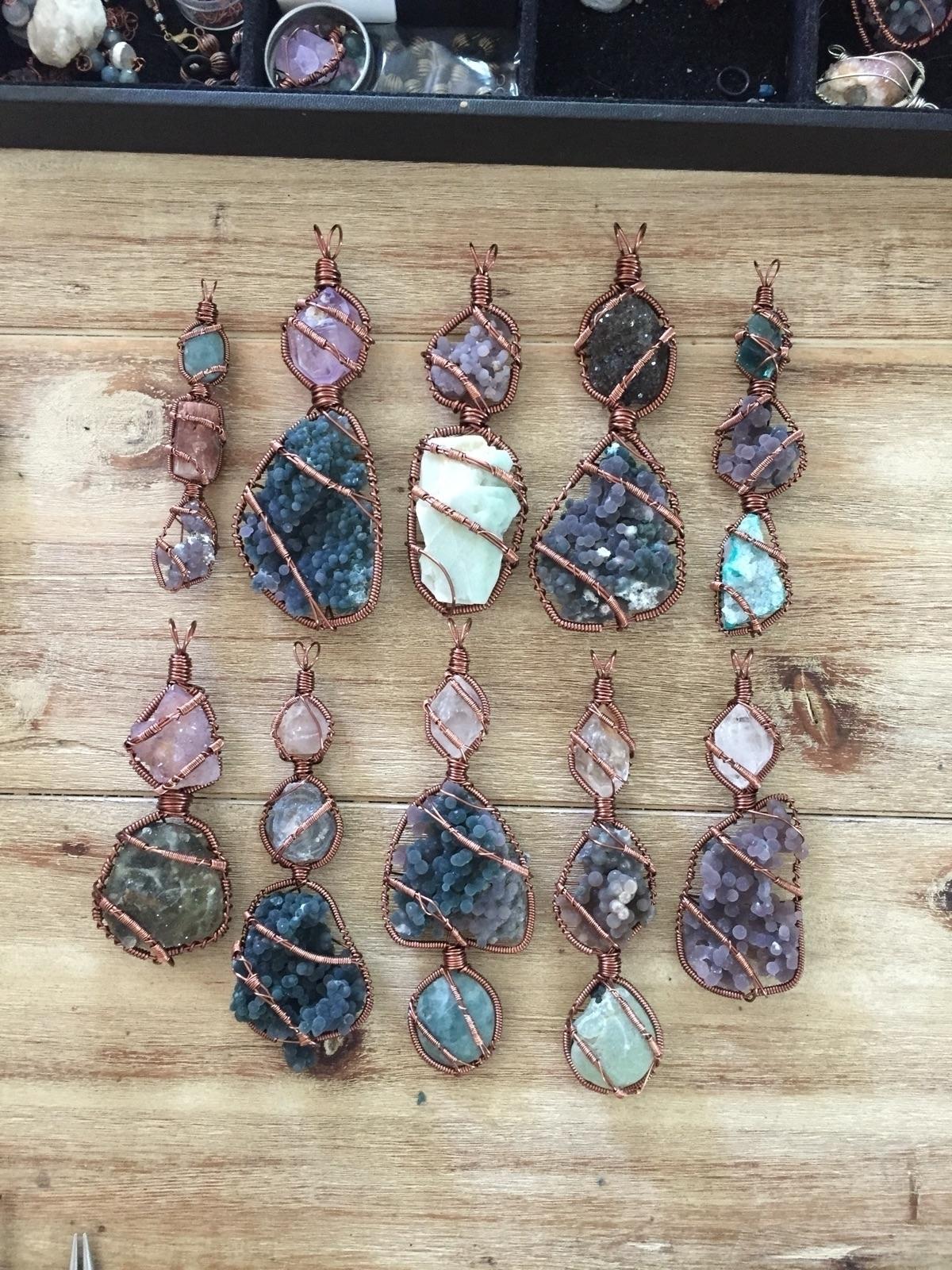 bunch pendants working finished - rockfanatic   ello