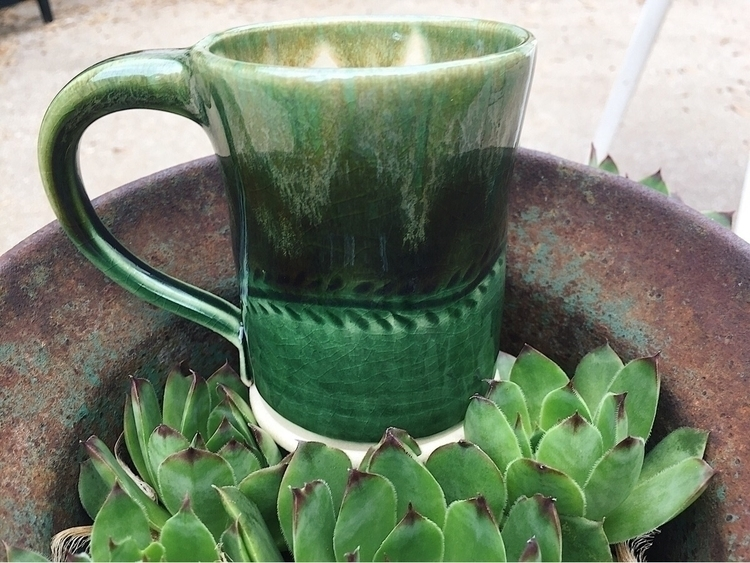 fresh mug glaze firing!:seedlin - earthenroots | ello