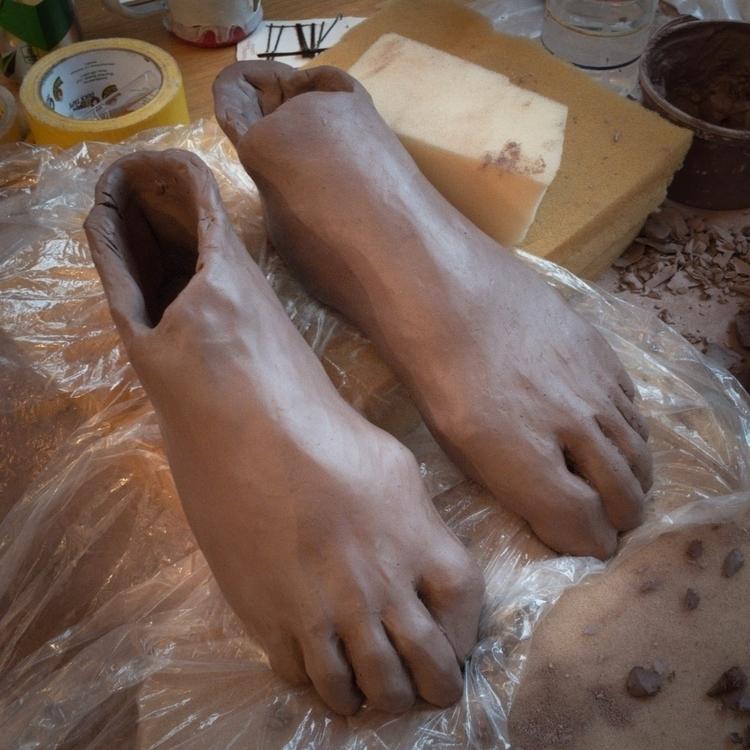 feet, ceramic, wet - davidsackett | ello