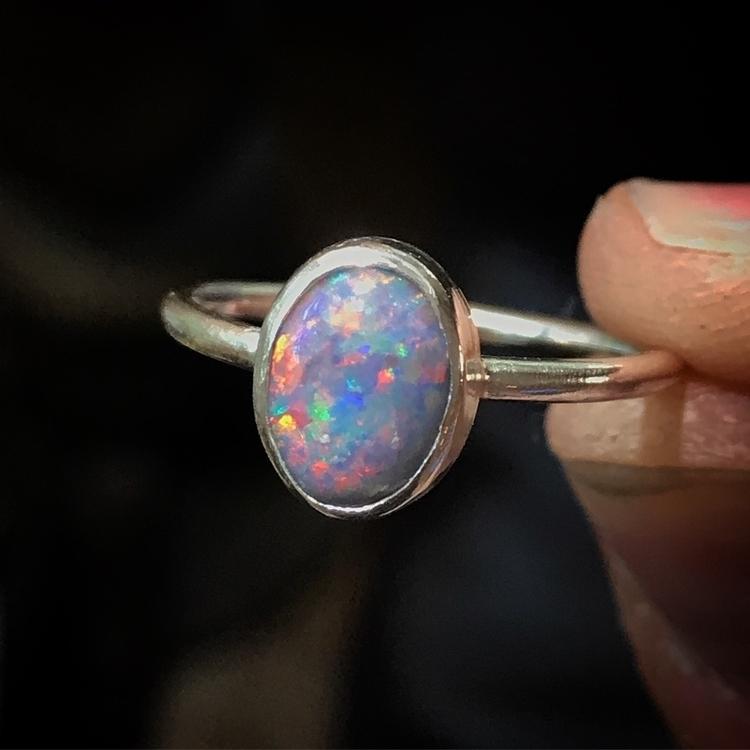 Australian Opal Sterling Silver - moon_haus | ello