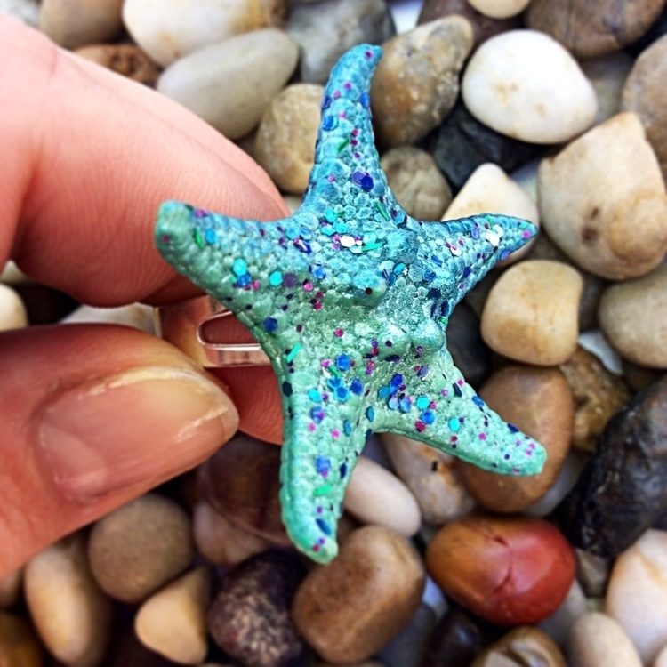 ring 🤤🤤🤤Real starfish rings lis - lovelycharmedfinds | ello
