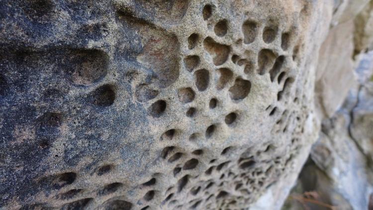 cool boulder, close eroded, Raa - arifertig | ello