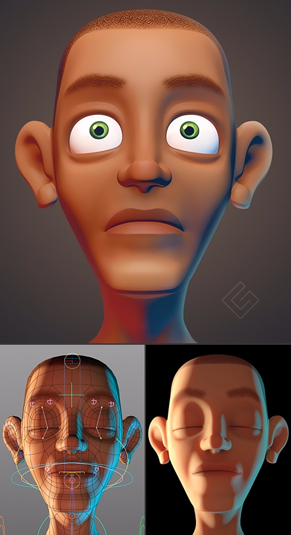 Human Face website: grafico 3d - giuseppe3d | ello