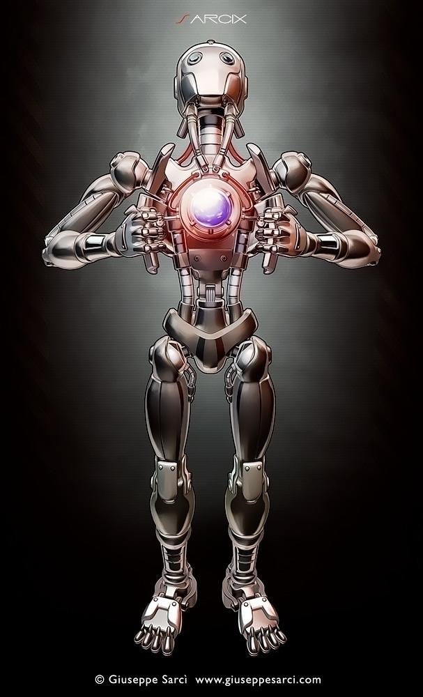 Cyborg wide shut ( 3d cel-shadi - giuseppe3d | ello