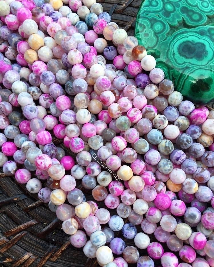 coming agate beads idea start.  - elizcobeads | ello