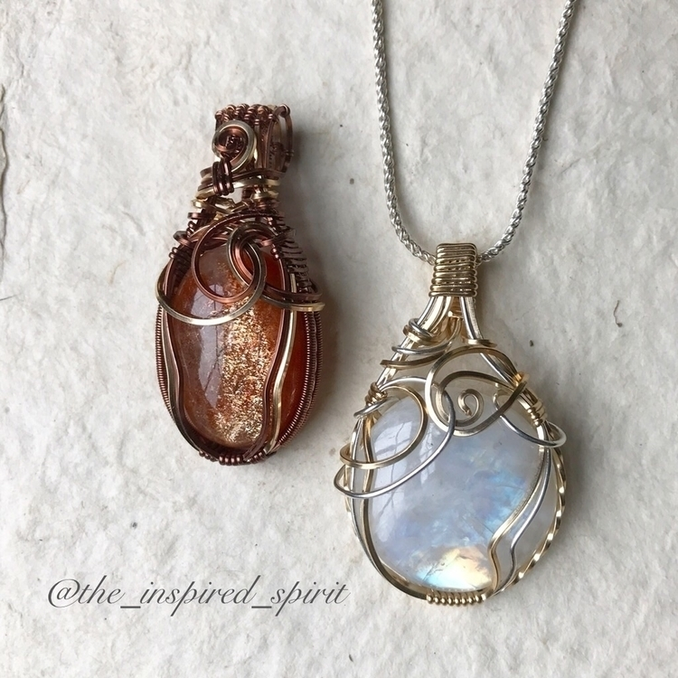 magical duo! Sunstone wrapped A - the_inspired_spirit | ello
