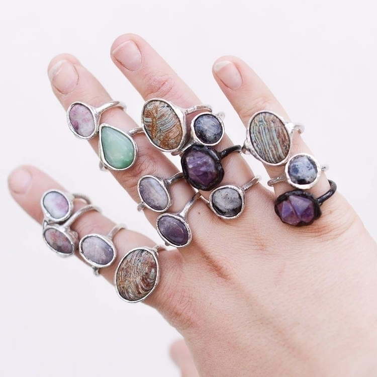 beautys ♡ missing  - jewels, amethyst - formvollendung | ello