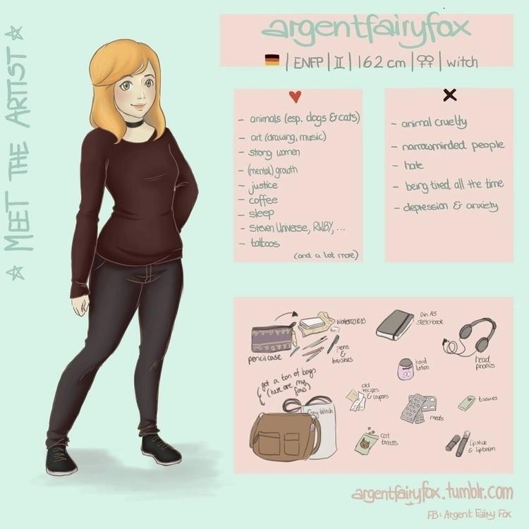 meettheartist - argentfairyfox | ello