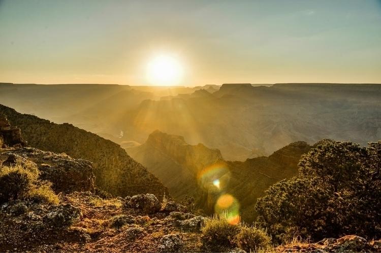 Sunset Navajo Point. East Grand - natchez | ello
