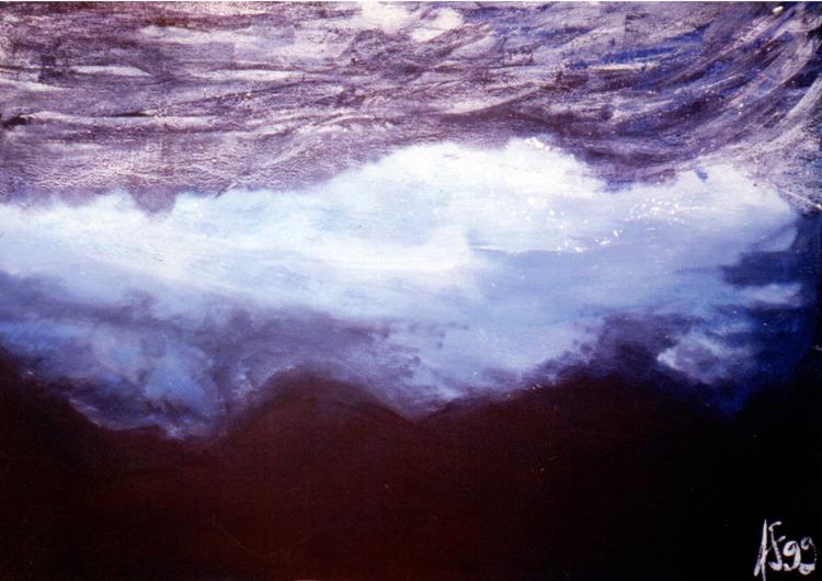 Sea - 1999 Acrylic paper, brush - lcs-illustration   ello