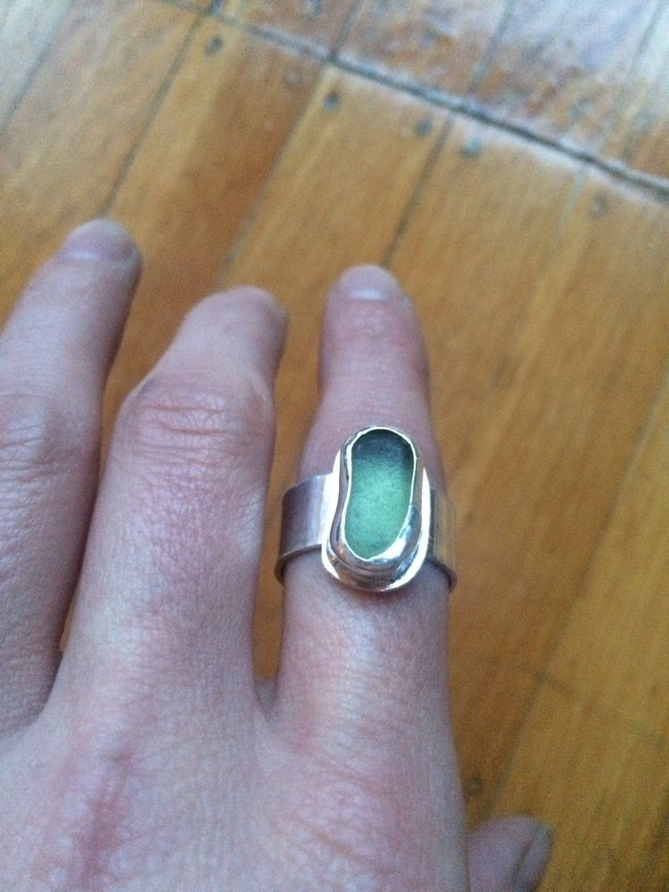 Ello! ring Size 8. Sterling sil - dalyceameliadesigns | ello