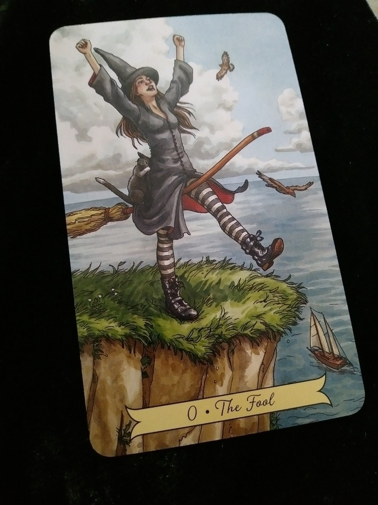 asked Everyday Witch tarot deck - readingsbyv | ello