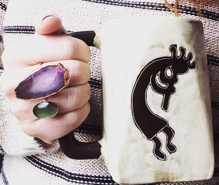 find mood rings pink agate ston - jtmcreations | ello