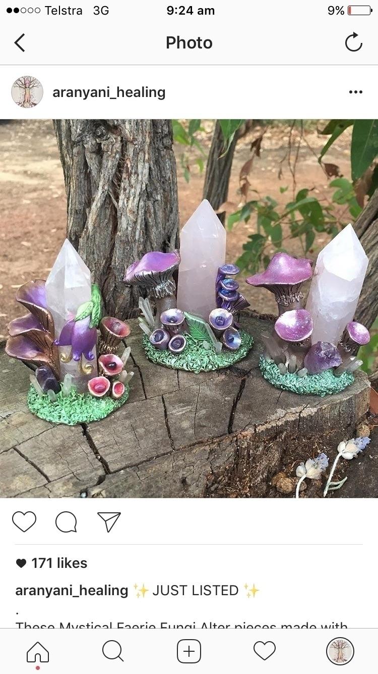 Faerie Fungi shop - aranyani_healing | ello