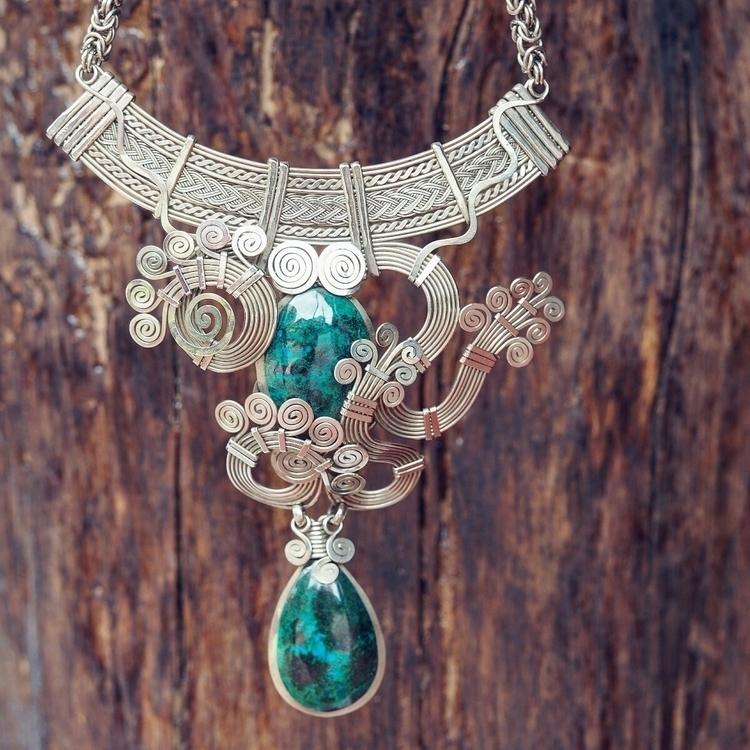 handmade THAYA necklace double  - itayaarte | ello