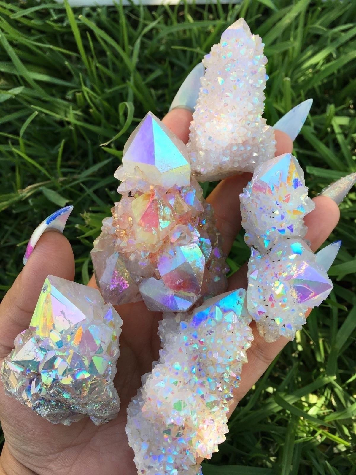 Angel Aura Spirit Quartz - angelaura - prismsouls | ello