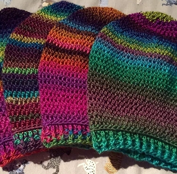 Hand crocheted slouchy hats...  - medusas_handmade | ello