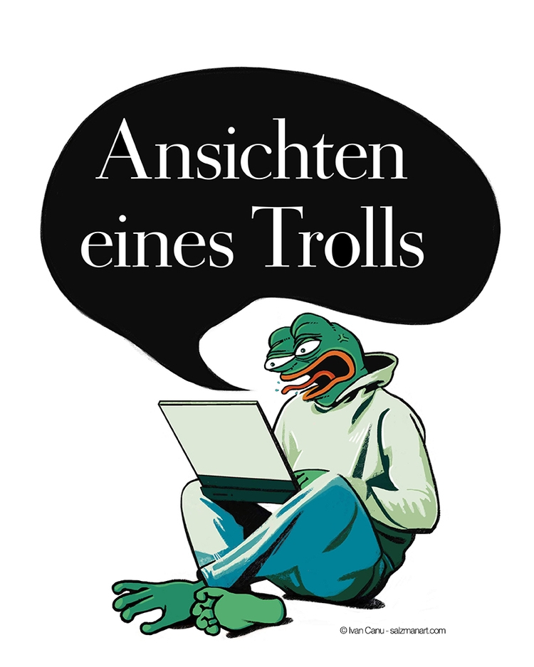 Pepe frog internet trolls' stor - canuivan | ello