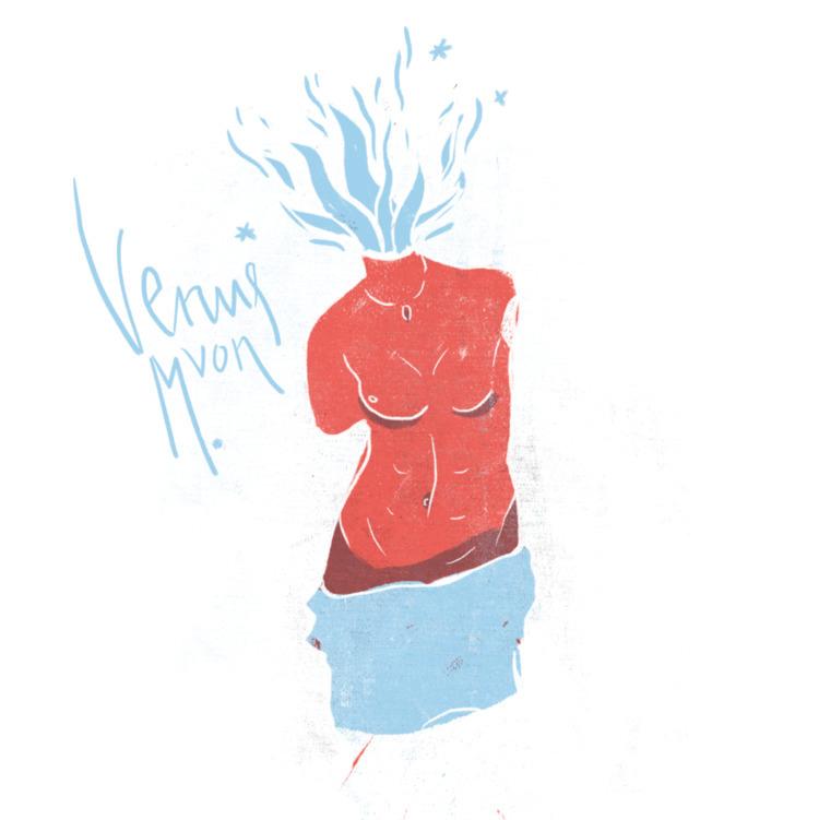 Famous torsos: Venus Milo - illustration - mono__mono | ello