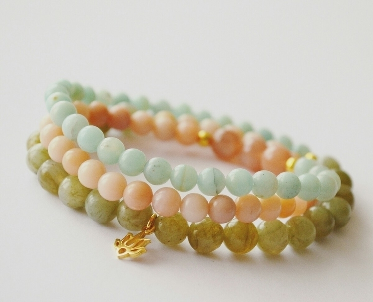 Natural Beauty Mala Wrap gemsto - heartwingmalas | ello