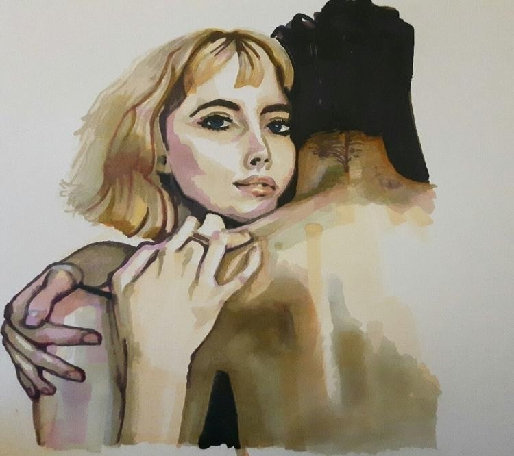 portrait, fineart, illustration - inmynextlife   ello