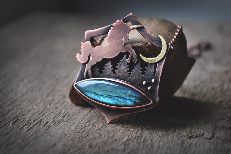 Unicorn magic Copper - jewelry, ellojewelry - twistedjewelry | ello
