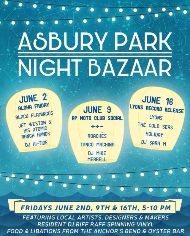 folks!! asbury park bazaar Frid - jtmcreations   ello