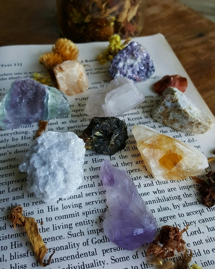 Expand crystal collection today - moonlit_crystals | ello