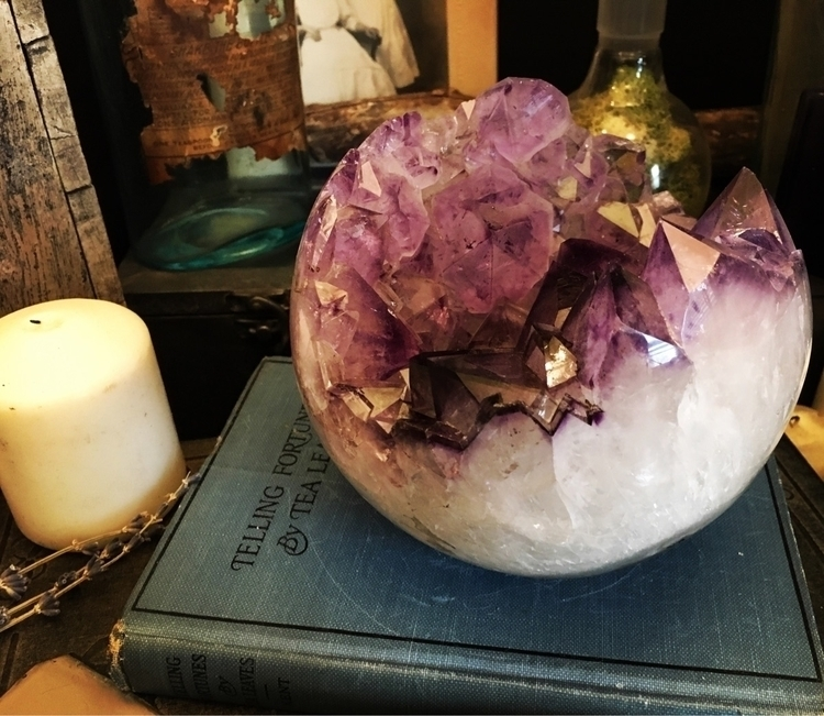 Amethyst Crystal Ball - crystals - foxlark | ello