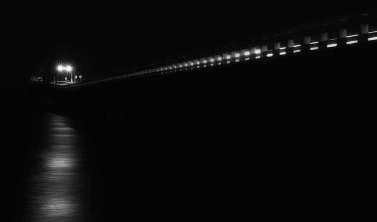 Water Bridge move - minimalism, monochrome - rickschwartz | ello