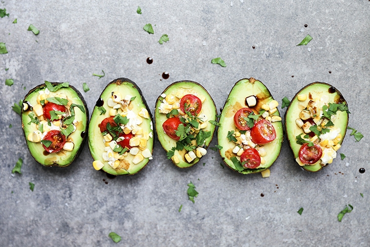 Baked Avocados Fresh Salsa. fun - floatingkitchen | ello