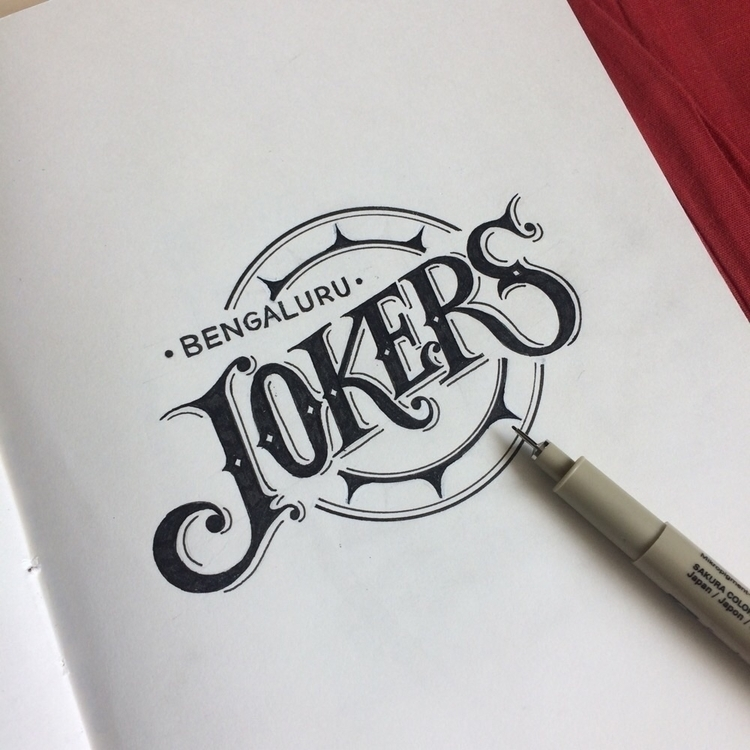 Unused logo sketch - lettering, typography - niteeshyadav | ello