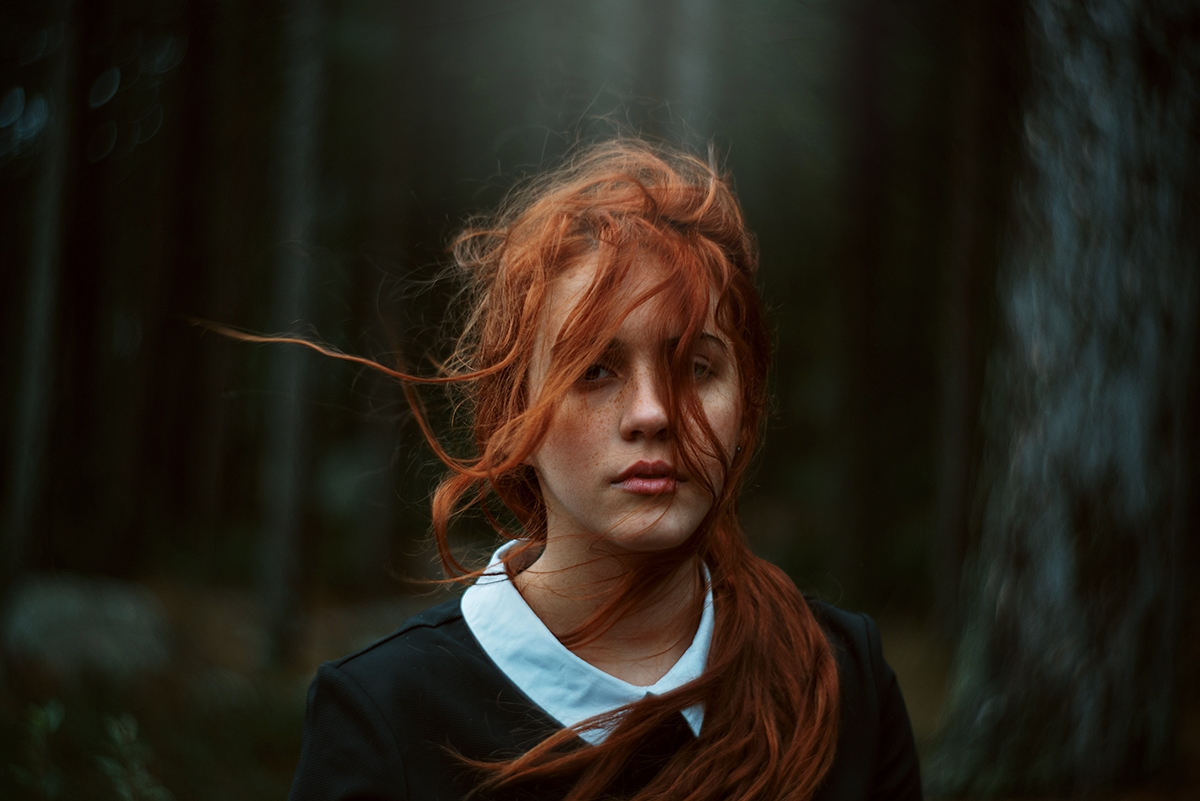 """Red Line"" — Photographer:Ricc - darkbeautymag | ello"