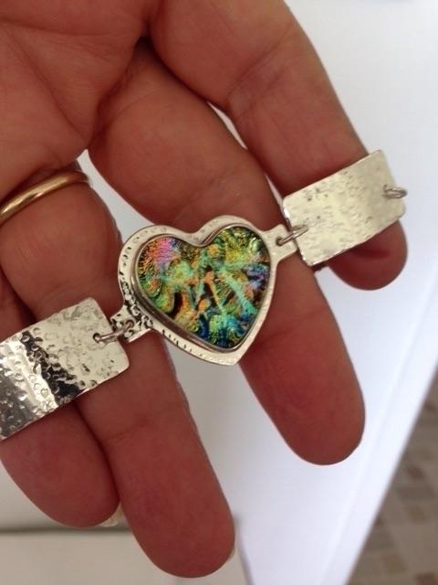 bracelet friends birthday - fusedglass - carolsilrum | ello