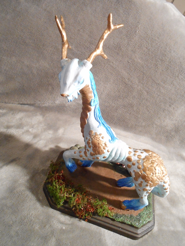 Kirin inspired figure reminds b - biancaslittlecorner | ello