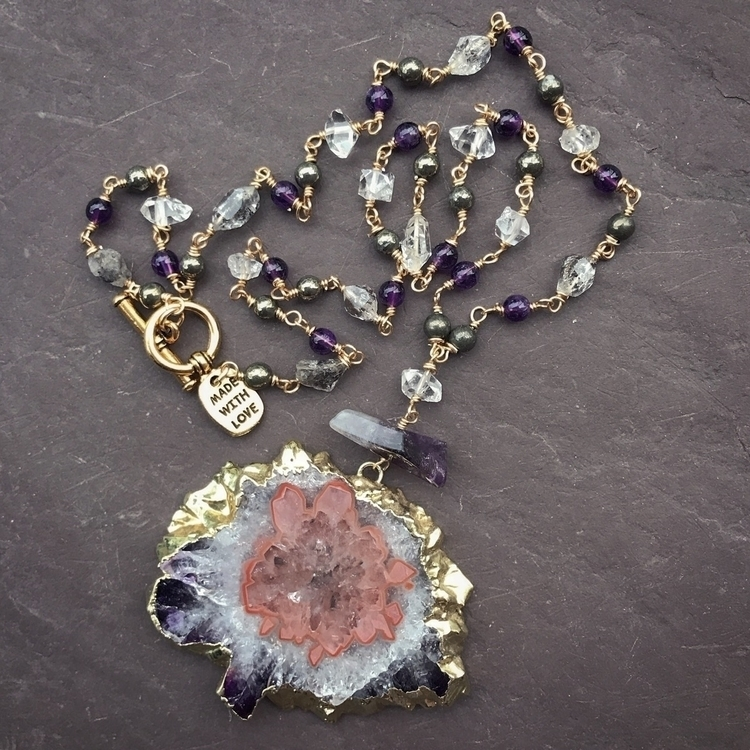 gorgeous gem day piece features - lunacatdesigns | ello