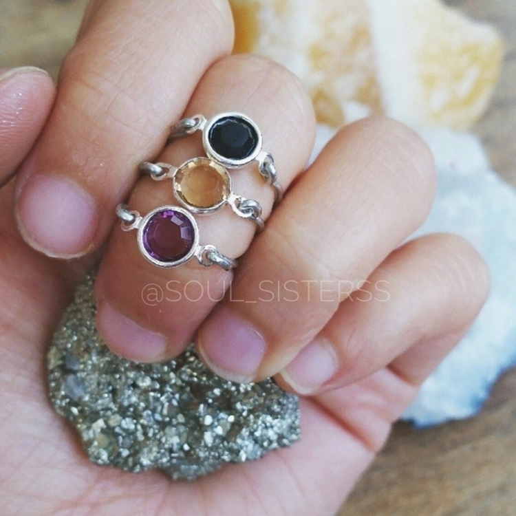 midi rings:ring:  - healingstones - soul_sisterss | ello