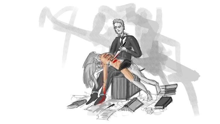 story - illustration, handmade, nofilter - sofiabristol | ello