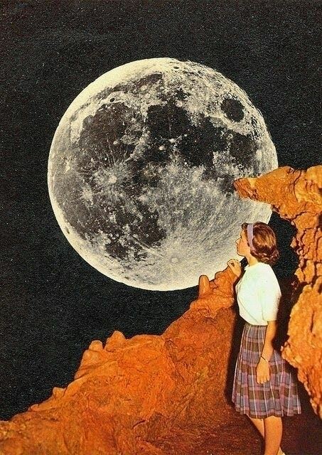 Gemini Moon Super peaking side  - fogandfae | ello