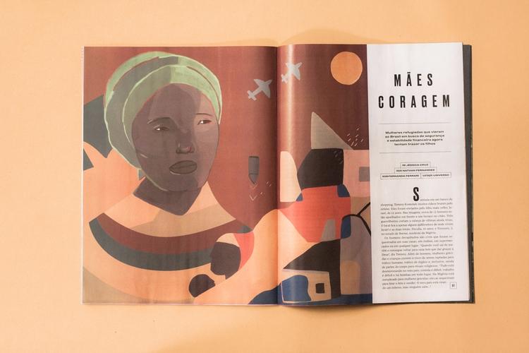 Illustrations Galileu Magazine - uinverso   ello